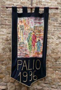 """Nell'Anno 1996 La Gaita San Giovanni vince: il Palio La Gara Mestieri Medievali La Gara Gastronomica """"Piatto Medievale"""""""