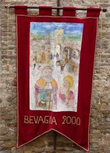 Nell'Anno 2000 La Gaita San Giovanni vince: il Palio La Gara Mercato Medievale