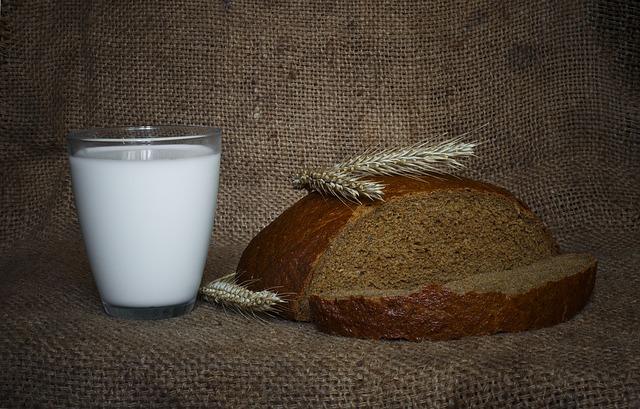 Grano cotto nel latte e brodo