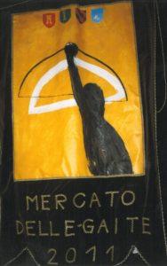 """Nell'Anno 2011 La Gaita San Giovanni vince: il Palio La Gara Mercato Medievale La Gara Gastronomica """"Piatto Medievale"""""""